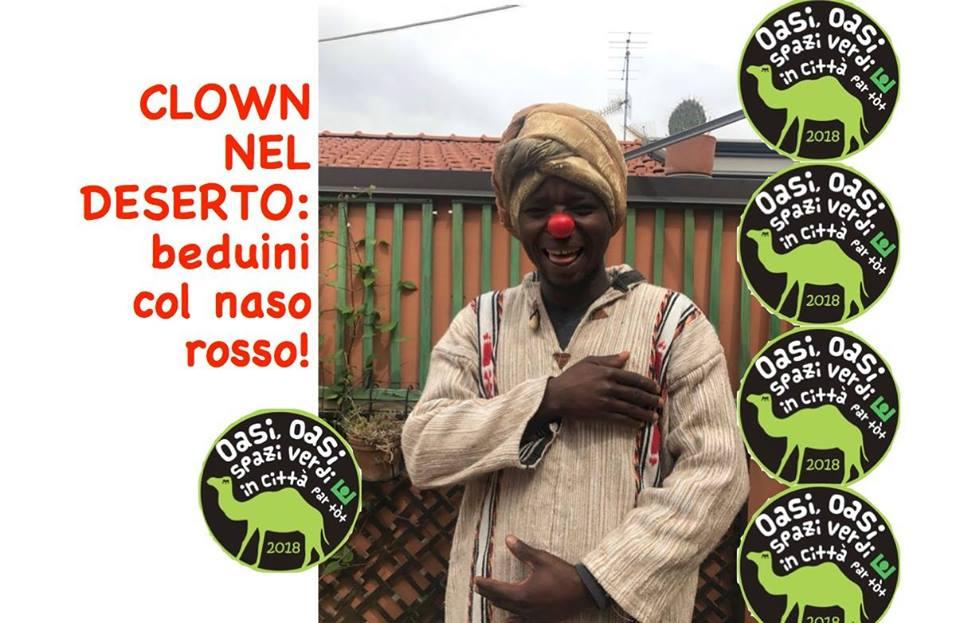 Clown nel deserto: beduini col naso rosso!